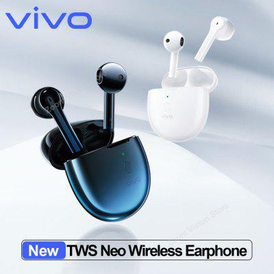 2020 New Original vivo TWS Neo Earphone Bluetooth 5.2 Earbuds Wireless Portable Headset Game Low Delay Noise Reduction