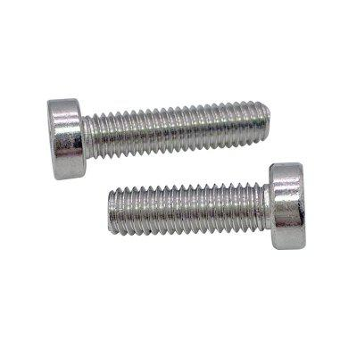 304 Stainless Steel Screw Cylindrical Head Bolt M5 Cheese Head Screws with Cross Recess 5pcs