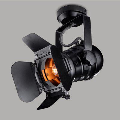 Black Track Lighting Track Light Loft Industrial Spotlight Rail Light Black Track Lamp