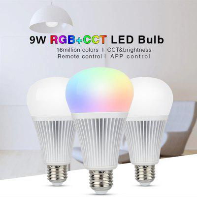 RGB CCT LED Bulb 2.4G Wireless Remote Control Spotlight