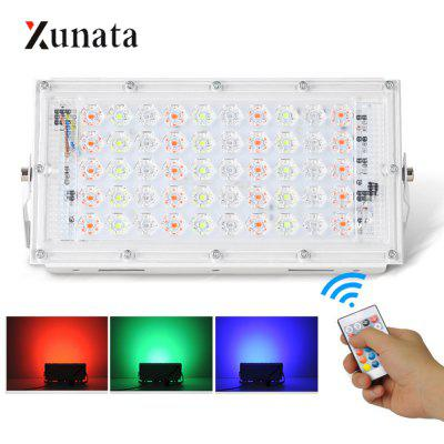 Floodlight with Remote Controller Super Bright LED Spotlight reflector Waterproof Outdoor Floodlight