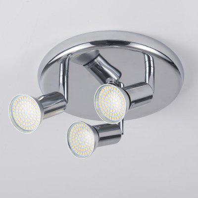 Surface mounted 3 Lights rotatable Modern Decoration  for living room bedroom kitchen home lighting