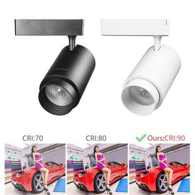 Zoomable 12W  LED Track Light 2 3 4 Wire 3 Phase Dimmable