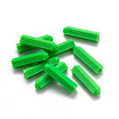 200pcs Plastic Expansion Anchors Drywall Wall Anchors M6 M8 Plastic Anchor Wall Plugs for Screw