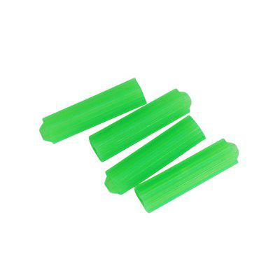 Plastic Expansion Pipe Green M8 Wall Plug Rubber Anchors Plug Self Tapping Screw Expansion Tube