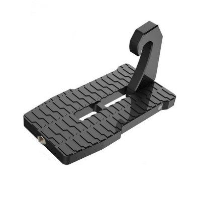 Car Door Step Hook Foot Pedal Ladder For Jeep SUV Truck Roof Mini Door Hooks Black Droppingship