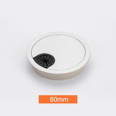 Plastic Desk Table Grommet Cable Cord Hole Cover for Home Office Table Cable Outlet Port