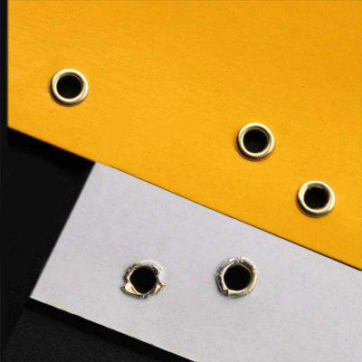 4mm Brass Eyelets and Setting Pliers Kit for All Fabric Clothes Shoes with 100Pcs Grommets
