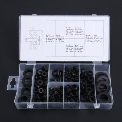 180pcs Rubber Grommet for Wire 8 Sizes Grommets Gasket Rings