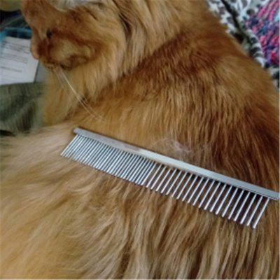 Metal Comb for Dogs Stainless Steel Pet Dog Cat Pin Comb Hair Brush Hairbrush Flea Comb Dogs