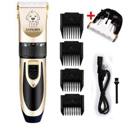Rechargeable Low-noise Cat Dog Hair Clipper Trimmer Electrical Pet Hair Remover Cutter Grooming