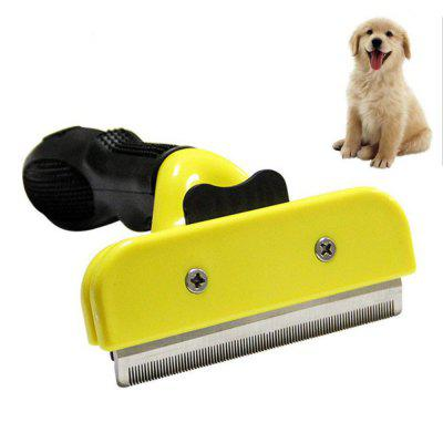 Pet Dog Comb Stainless Steel For Fur Cleaning Hair Removal Brush Cats Grooming Combs Tool