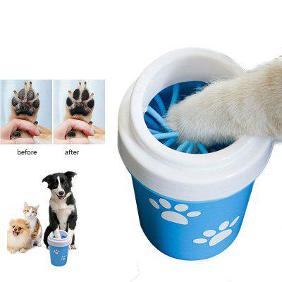 Dog Paw Cleaner Cup for Small Large Dogs Pet Feet Washer Portable Pet Cat Dirty Paw Cleaning Cup