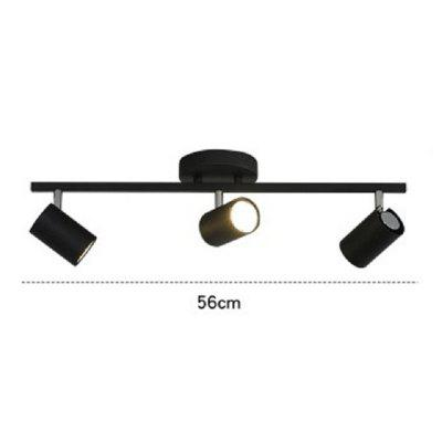 Black Kitchen Lights Ceiling Lamp Lighting Angle Adjustable Spotlights