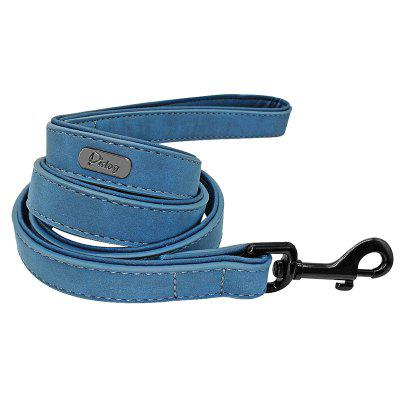Dog Leash Harness Leather Lead Pet Dog Puppy Walking Running Leashes Training Rope Belt
