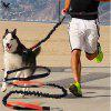 Dogs Leash Hand Freely Pet Products Dogs Harness Collar Jogging Lead and Adjustable Waist Rope