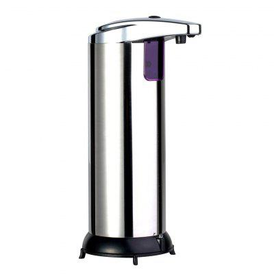 280ML Stainless Steel IR Sensor Touchless Automatic Liquid Soap Dispenser for Kitchen Bathroom