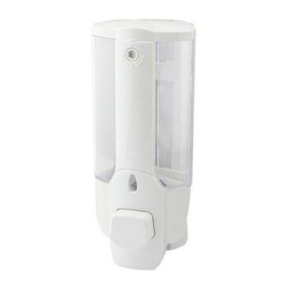 Wall Mount Soap Dispenser Liquid Bathroom Disinfecting Hand Sanitizer Shower Shampoo