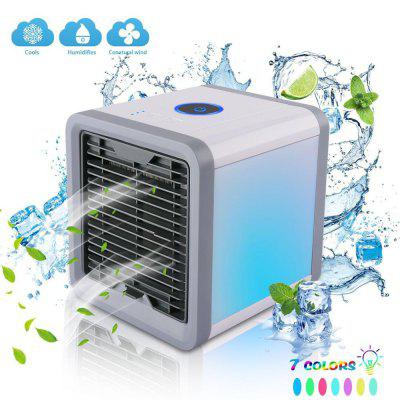 Mini Air Conditioner Portable Humidifier Air Cooler Fan with Water Cooling Space Air Cooling Fan