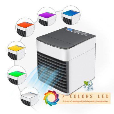 USB Mini Portable Air Conditioner Humidifier Purifier Desktop Air Cooler Fan for Office Home