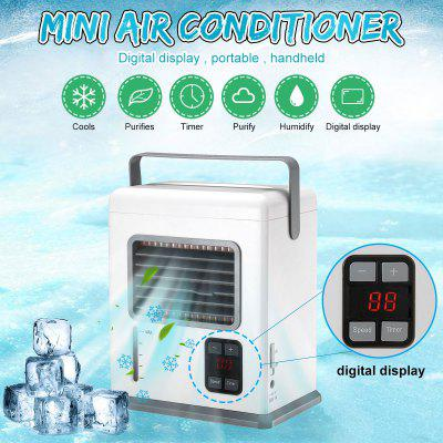 USB Rechargeable Portable Handheld Air Conditioner Conditioning Mini Air Cooler Air Cooling Fan