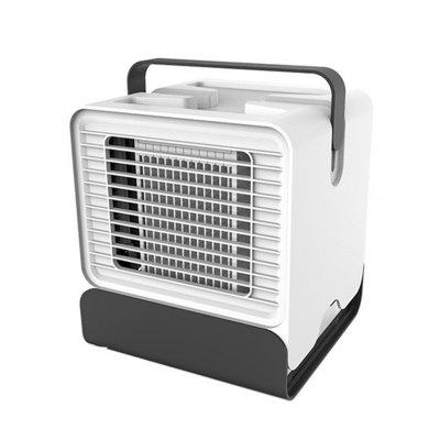 Air Cooler USB Air Conditioner Mini Fan Negative Ion Humidifier Purifier with 150ml Water Tank
