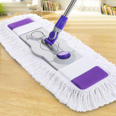 Floor Cleaner Flat Mops Wood Floor Flat Mop Large Household 360 Degree Spin Dry Magic Rotating Mop Flat Mop Cleaning Tool