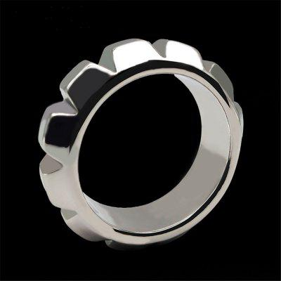 Metal Penis Lock Ring Stainless steel Male Ball Scrotum Stretcher Bondage Delay Ejaculation BDSM Sex Toys For Man Sex Shop
