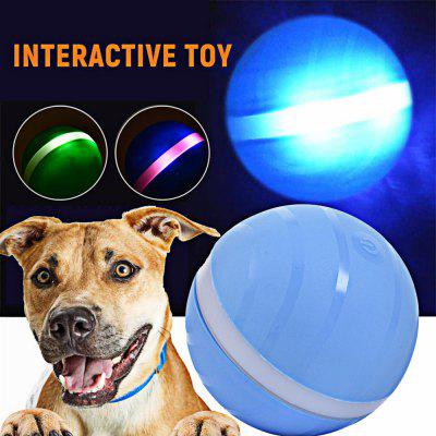 Automatic Dog Ball Toys Jumping Magic Ball Launcher Dog Cat Outdoor Toys Waterproof USB Rubber LED Electric Pet Ball Kids Toys
