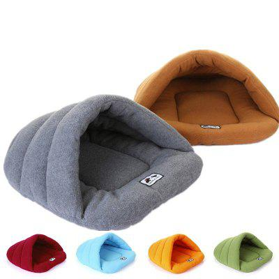 Winter Warm Slippers Style Dog Bed Pet Dog House Lovely Soft Suitable Cat Dog Bed House for Pets Cushion