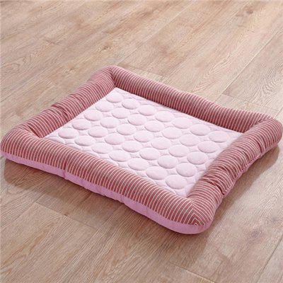 Summer Cooling Pet Dog Mat Ice Pad Dog Sleeping Mats For Dogs Cats Pet Kennel Top Quality  Cool Cold Silk Bed For Dog