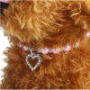 Fashion Dog Necklace Pet Puppy Dog Cat Pearl Jewelry Decorative Collar Pet Accessories Love Pendant For Small Dogs Cats Supply 4