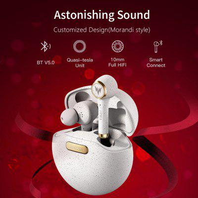 Tp1S Wireless Bluetooth Earphone 3D Stereo Wireless Earphone Dual Microphone Headphones