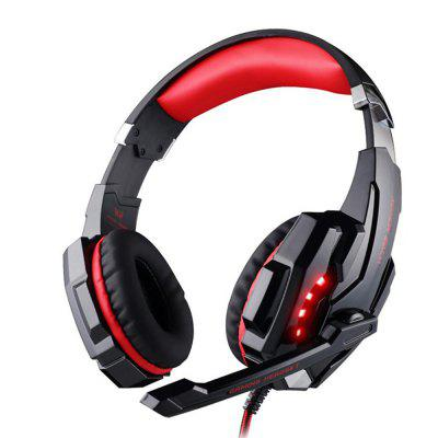 Gaming Headphones Headset Stereo Wired Gamer Earphone Microphone with Backlit for PS4 PC Laptop