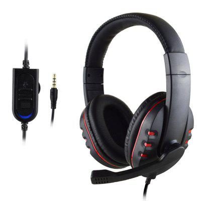 Headphones with Microphone HiFi Gaming Headset Portable Earphone For PC PS4 Xbox One Mobile