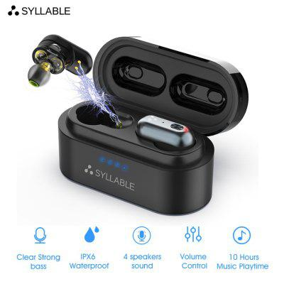 Bluetooth V5.0 Bass Earphones Wireless Headset Noise Reduction Headphones Volume Control Earbuds