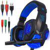 Stereo Surround Sound Noise Cancelling Wired Gamer Headphones With Mic Auriculares