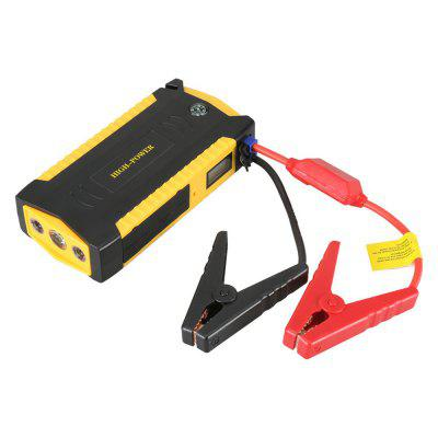 Multi-Function 16000mAh Starting Device 600A 12V Lithium Battery Jump Starter Petrol Car Charge