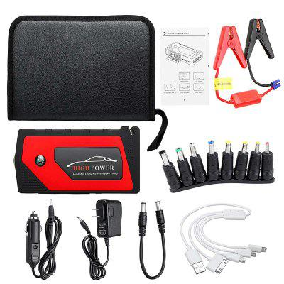 69800mAh 4 USB Car Jump Starter Pack Portable Charger Booster Power Bank