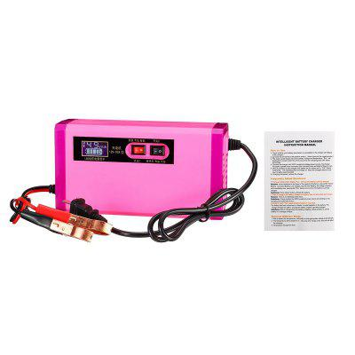 12V 8A 6-120Ah Auto Car Battery Charger 100-240V For Car Lithium Battery Jump Starter Motorcycle