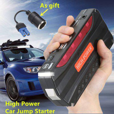 12V 600A Starting Device Portable Lithium Battery Jump Starter High Power Charger Car Booster