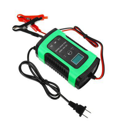 Auto Car Intelligent Battery Charger Jump Starter LCD Intelligent 100-240V Pulse Repair Type