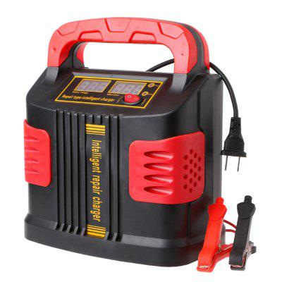350W 14A AUTO Plus Adjust LCD Battery Charger 12V-24V Car Portable Super Capacitor Jump Starter