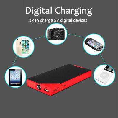3 in 1 LCD USB Jump Starter Pack 400A 12V Small Car Battery Charger Booster Power Bank