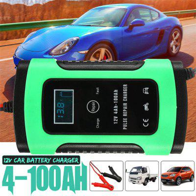 12V 5A Auto Car Intelligent Battery Charger Jump Starter LCD