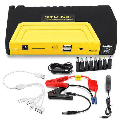 68800mAh 12V 600A Super Capacitor Jump Starter USB Portable Power Bank Car Charger Starting Device
