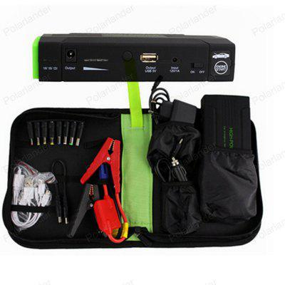 Compact Jump Starter with Box Portable Power Bank Multi Function Emergency Car Battery Booster Pack