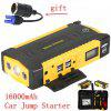 5 in 1 Jump Starter Pack 16000mAh Heavy Duty Car Battery Charger Booster Compact Power Bank