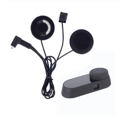 Motorcycle Bluetooth Headset Moto Helmet Headsets without Intercom Function with Soft Mic