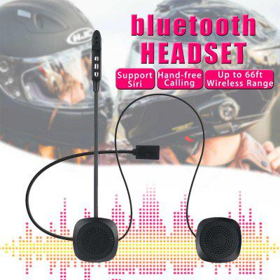 Wireless Anti-interference Helmet Headset Hands Free bluetooth V4.2 Intercom for Motorcycle